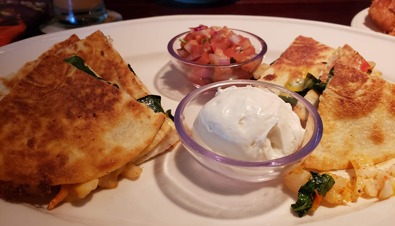 Chicken Quesadilla - Bahama Breeze