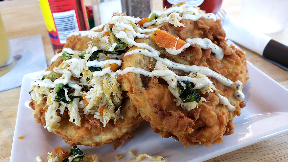 Fried Green Tomatoes - Soul Crab Chicago