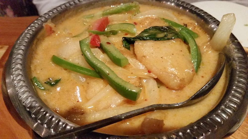 A.Fusion - Fish Panang Curry - Chinese Food