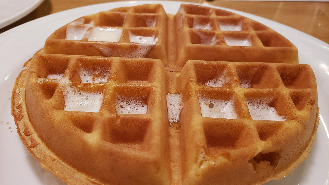 Belgium Waffles - Eppel's Restaurant