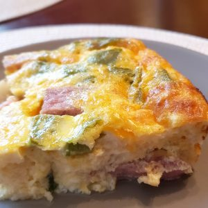 Ham and Egg Casserole - Keto and Low Carb Friendly