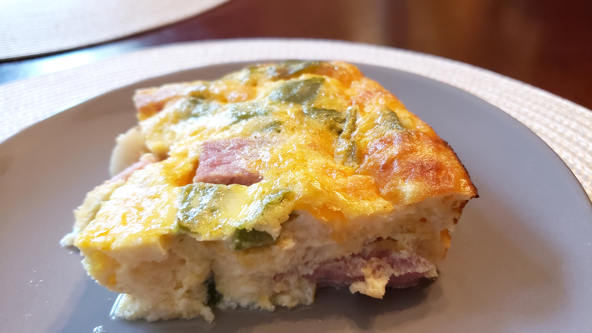 Recipe: Ham and Egg Casserole [Keto and Low-Carb Friendly]