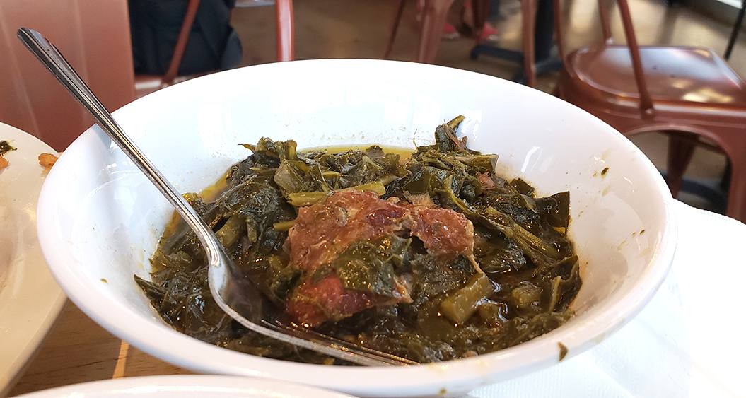 Spicy Braised Greens - Soul Crab Chicago