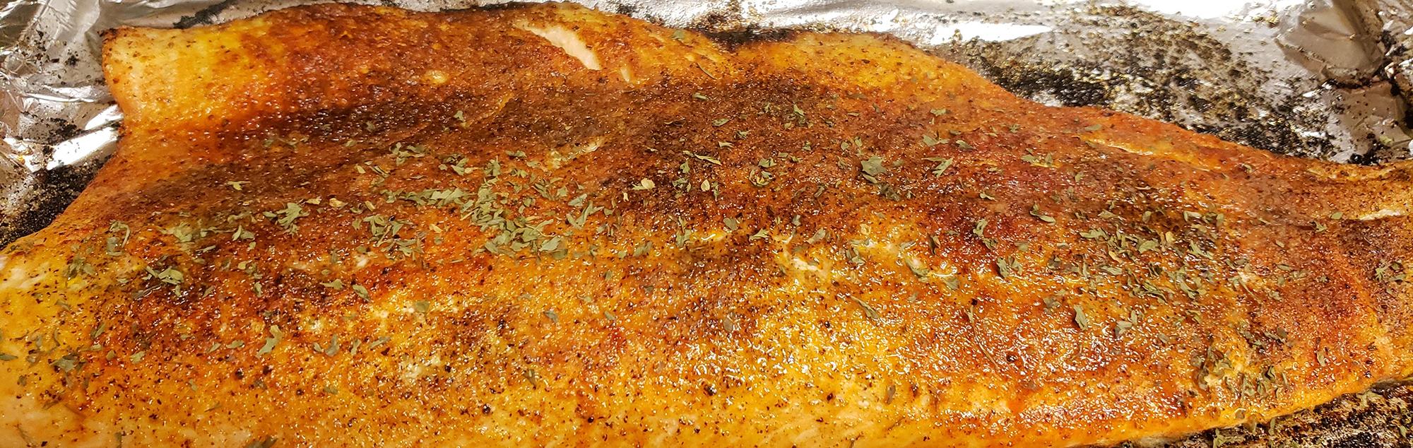Recipe: Cajun and Lemon Pepper Salmon [Keto Friendly]