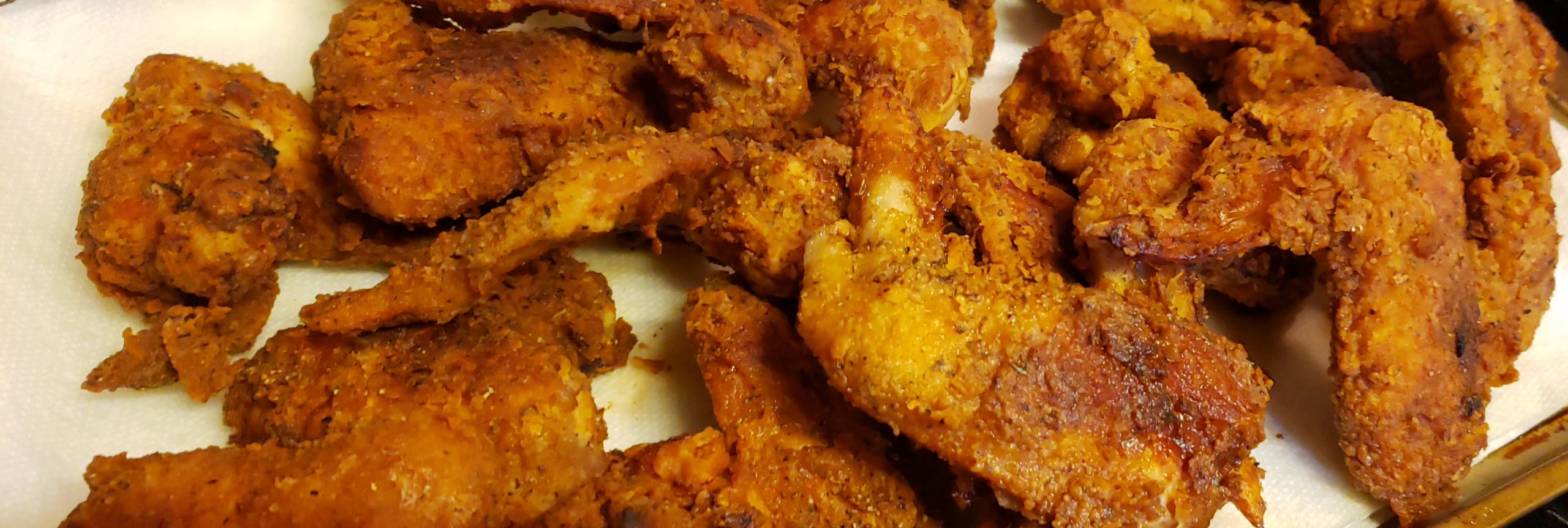 Recipe: Crispy Southern Fried Chicken Wings