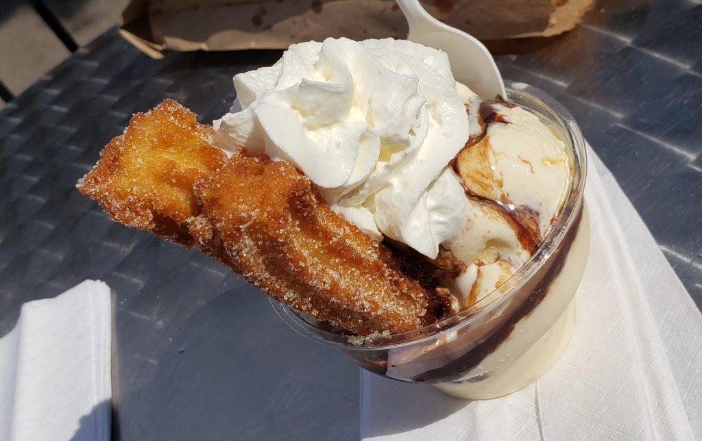 Xurro - Churro Factory - Churro Ice Cream Sundae